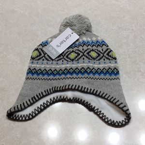 Carters knit hat boy size 0 to 3 months
